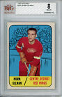 1967 68 Topps #101 Norm Ullman BVG 8 NM-MT Detroit Red Wings