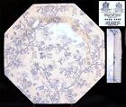 Johnson Brothers England Hyde Park Ironstone Blue and White Dinner Plate (s)