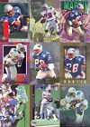 FOOTBALL CURTIS MARTIN LOT OF 51 DIFFERENT TRADING CARDS VARIOUS MANUFACTURERS