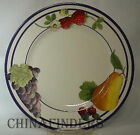 LENOX china FRUIT GROVES pattern Salad or Dessert Plate 8 1/4
