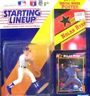 Nolan Ryan Starting Lineup Figure/Texas Rangers/1992 Kenner Toy