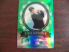 2012 Leaf Metal Champions NATALIE GULBIS Autograph GREEN REFRACTOR 3 25