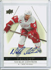 13 14 UD TRILOGY NICKLAS LIDSTROM AUTO PARALLEL (#34) RED WINGS AUTOGRAPH