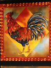 T234 Rooster Chicken Hen Country French Farm Panel Cotton Fabric Quilt Fabric