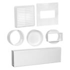 Universal Permanent Tumble Dryer Vent Venting Kit With All Fixings Included