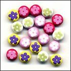 Buttons Galore FLOWER Jazzy Brads Scrapbooking Cardmaking Paper Crafts
