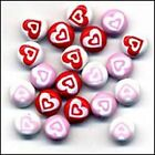 Buttons Galore HEARTS Jazzy Brads Scrapbooking Cardmaking Paper Crafts