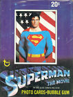 SUPERMAN THE MOVIE 1 SERIES 1 1978 TOPPS WAX TRADING CARD BOX