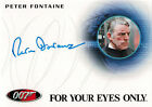 James Bond 007 50th Anniversary Autograph Card A204 Peter Fontaine as Captain