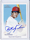 Carl Yastrzemski 2010 Topps National Chicle ON-CARD Auto Red Sox FREE SHIP