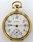 NEAR MINT LADIES 1908 WALTHAM 14K GOLD POCKET WATCH HIGH GRADE 17J MOVEMENT