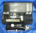 DOMESTIC BUTTONHOLER SET COMPLETE WITH BOX AND TEMPLATES THROAT PLATE VINTAGE