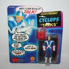 CYCLOPS ELECTRONIC TALKS 5 action figure X Men Marvel Super Heroes Toy Biz 1991