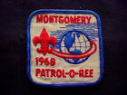 Vintage 1968 BSA Boy Scout Montgomery Patrol-o-ree Uniform Patch