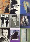 TITANIC, THE 1998 DART FLIPCARDS COMPLETE BASE CARD SET OF 72