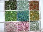 1440 Hot Fix Iron On 10 Colors Rhinestone+Case Supplies FREE SHIP SS20 5mm Mix