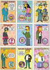 THE SIMPSONS SERIES 2 1994 SKYBOX COMPLETE BASE CARD SET OF 80 AN