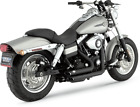 Vance  Hines Shortshots Staggered black exhaust Harley 06 11 Dyna FXD FXDF FXDW
