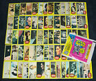 Star Wars 1977 Topps Vintage 66 Card Yellow Set 3 NM MINT + Wax Pack Wrapper