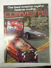 Original Bally Corvette Pinball Advertising Flyer