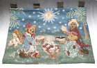Boyds Bears Christmas Nativity Holiday Pageant Tapestry