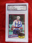 MIKE GARTNER HAND SIGNED UNSCRATCHED 1980-81 TOPPS ROOKIE CARD PSA ENCAPSULATED