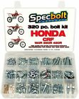 Bolt Kit Honda CRF150R CRF250R CRF450R Plastics body engine brake rotors