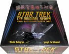 Star Trek TOS Heroes & Villains Factory Sealed Trading Card Box w 2 Autographs