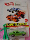 2013 Flying Customs '74 CHEVROLET VEGA PRO STOCK 1974☆Lime GREEN☆HOT WHEELS