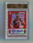 MICHAEL CARTER-WILLIAMS 2013 -14 PRIZM RED PRIZMS AUTO 9 49 BGS 9.5 10 GEM MINT