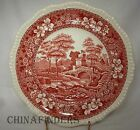 SPODE china TOWER PINK older mark Luncheon Plate @ 9-3/8