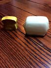 VNTAGE TOAST TOASTER CERAMIC SALT PEPPER SHAKERS EUC