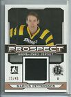 2014 ITG DRAFT PROSPECTS MARCUS PETTERSSON BRONZE GAME USED JERSEY 25 45