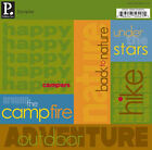 Pebbles Inc CAMPING Sampler Stickers Scrapbooking Cardmaking Paper Crafts