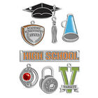 American Traditional Designs STAINLESS HIGH SCHOOL LiL Charms Scrapbooking