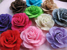 10 Big Felt Rose 4D Flower Bow Applique U PICK D002