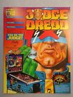 Original Bally Pinball Advertising Flyer Judge Dredd