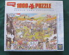 CRAZY OLYMPICS by Gerold Como - 1000 piece King Comic puzzle - NEW
