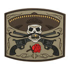 Maxpedition  3D PVC Morale Patch  /  El Guapo Bandito Skull  /  Arid Color