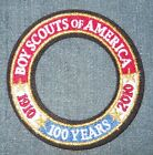 2010 National Boy Scout Jamboree 1910 - 2010 100 Years Ring Patch MINT! Jambo NJ