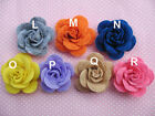 20 Felt Rose 4D Flower Applique christmas bow U PICK