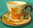 FRANCISCAN china OCTOBER pattern CUP & SAUCER set