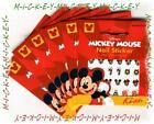 188 HOLIDAY & REGULAR MICKEY & MINNIE Disney Nail Decal Stickers