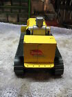 1950'S BATTERY OPERATED  SAUNDERS ROBOT MARVELOUS MIKE TRACTOR