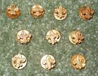 Lot of 10 Boy Scouts of America BSA Tenderfoot Rank Lapel Pins
