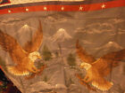Soaring Eagles Pillow Panel Fabric Sewing Crafts Frame Quilting Wamsutta