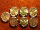 7 Silver Peace Dollars 1922-1923-1924 - very nice collection coins