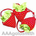 50PCS Strawberry bag Cute Foldable Shopping tote Bag Eco Reusable Recycle bags
