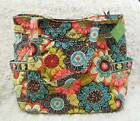 NWTAG Vera Bradley bag Pleated Tote Freeship NEW WITH TAG -- Flower Shower