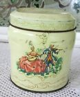 THE TIN BOX COMPANY~DAHER~BATH SALTS TIN&SCOOP~MADE IN ENGLAND~GODEY LADY?